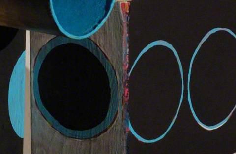 """""""um die Ecke"""" digitaler Fotodruck auf Leinwand, 65 x 100 cm, 2012"""